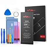 Flylinktech for iPhone 7 Battery, 2200mAh High Capacity Li-ion Battery...