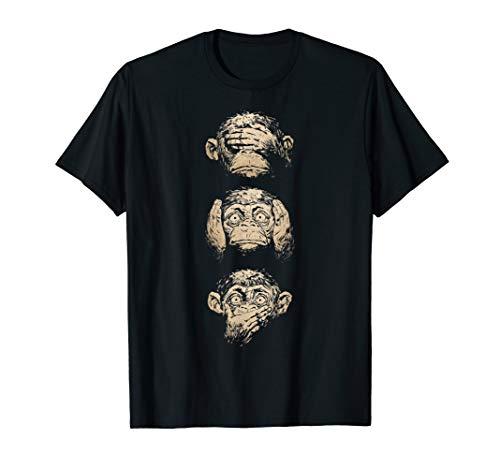 Speak No Evil Monkey T-shirt -