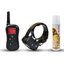 Remote Citronella No Bark Dog Training Collar, Effective and Humane with Spray, Vibration, Tone