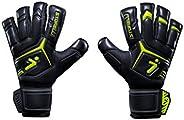 Storelli Gladiator Elite 2.0 Goalkeeper Gloves   High-Performance Soccer Goalie Gloves with Finger Spines   Pr