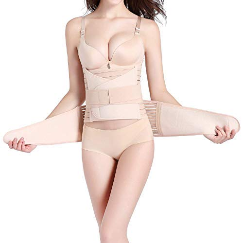 Hip Mall 3 In 1 Postpartum Girdle Support Recovery Belly Wrap