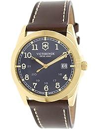 Infantry Brown Dial Gold-Tone SS Quartz Male Watch 241645