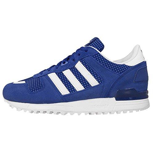 Adidas Women's ZX 700 W, BLUE/WHITE, 6 US