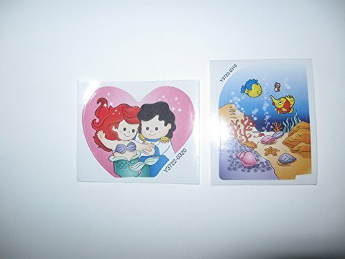 Fisher Price Little People Disney Princess The Little Mermaid, Ariel Play Set Replacement DECALS/STICKERS