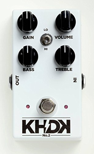(KHDK No.2 Clean Boost Effects Pedal)