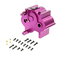 GPM Racing Alloy Center Gear Box for 1:8 HPI Flux + Other HPI Models, Purple