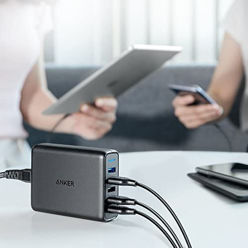 Anker PowerPort Speed 5 Black Tablet Accessories Chargers ...
