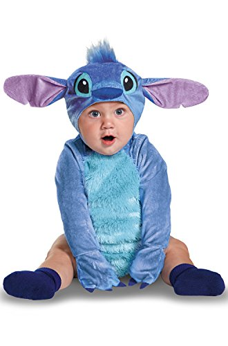 Disney Baby Stitch Infant Costume, Blue, 12 To 18 Months (Mascot Costume Disney)