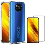 Kit Capa + Película de Vidro 3D 5D 9D Xiaomi Poco X3 / Poco x3 NFC + Kit Aplicação