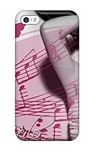 For Iphone 5/5s Tpu Phone Case Cover(nadine Beiler Music People Music)