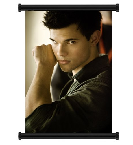 Taylor Lautner Sexy Fabric Wall Scroll Poster  Inches