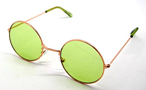 Verde Hippie Sol Retro Alta Redondas de Calidad Gafas Sunglasses UV400 Lagofree vqExfa5
