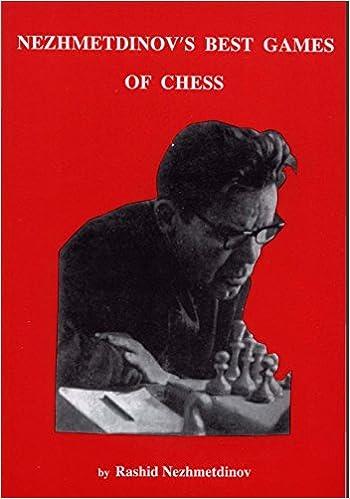 Nezhmetdinov's Best Games of Chess: Rashid Nezhmetdinov: 9780939433551:  Amazon.com: Books