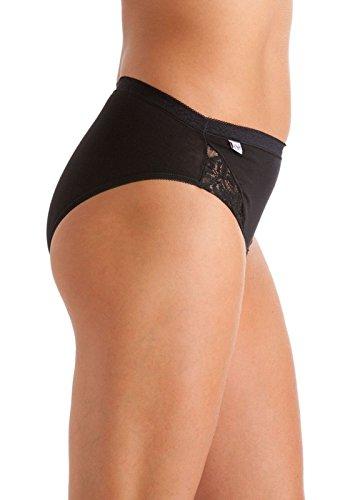 Get The Trend - Braguitas - para mujer Hi-Leg Black