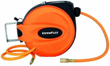 3//8 OEMTOOLS 24424 ViperFlex Retractable Hose Reel Inch by 50-Foot by OEM Tools