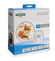 Petsafe Staywell Deluxe Magnetic Cat Flap, White