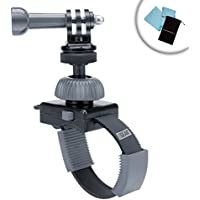 Extreme Ironing (EI) POV Zip Tie Style Action Camera Mount w/ 360 Degree Rotation by USA Gear - Works With GoPro , HTC , Xiaomi & More Action Cameras for all your Adventures