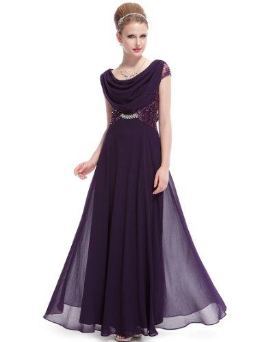 morado mujer Vestido Ever HE09989RD08 para Pretty oscuro wSFnPqB1