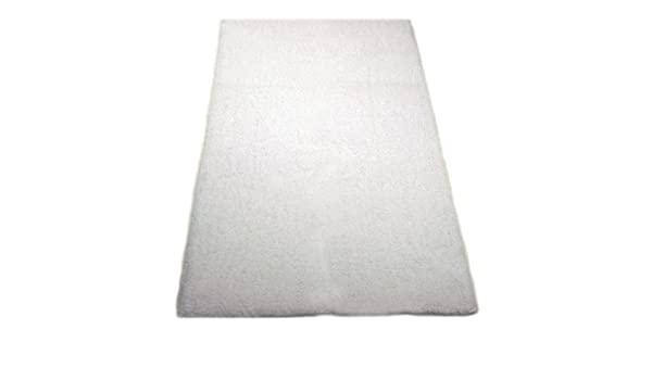 Graccioza Pureza Cachemira Alfombra de baño, bambú algodón, Blanco, Large: Amazon.es: Hogar