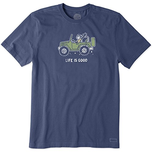 Life Is Good Jeep Shirt - 2