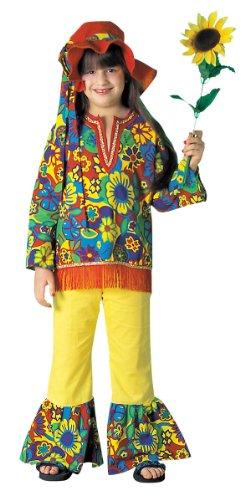 Girls Hippie Girl Costume - Child Medium - Hippie Dippie Costume