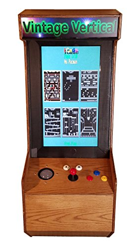 Labor Day Sale In-Store Demo: 60 Classic Game Light Oak Wall-Mount Arcade Unit