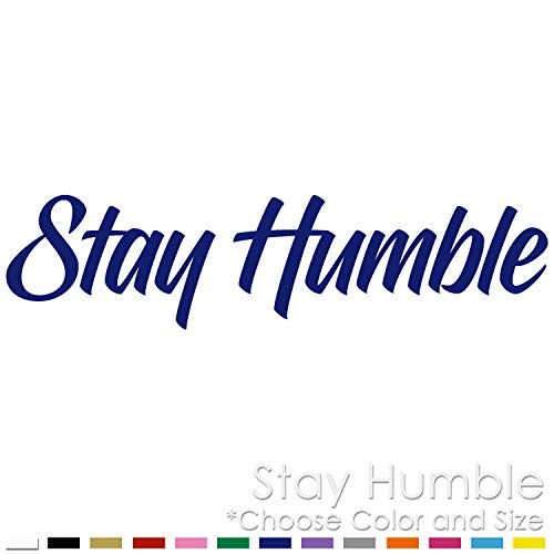 Stay Humble JDM Slammed Drift Racing Cars Vinyl Decal Sticker SH-01