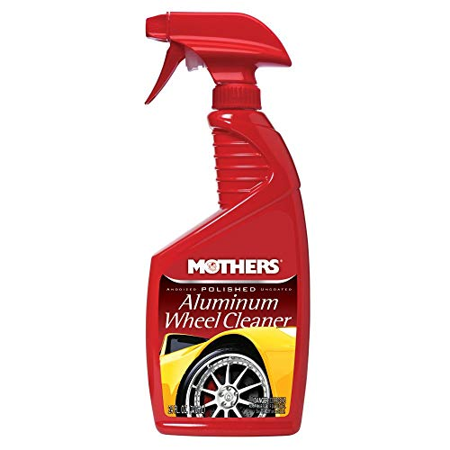 - Mothers 06024 Polished Aluminum Wheel Cleaner - 24 oz.