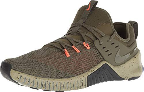 Nike Men's Metcon Free Training Shoe Olive Canvas/Olive Canvas-Neutral Olive - Olive Canvas Footwear