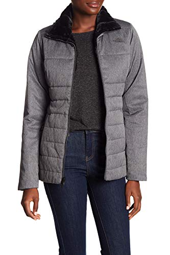 - The North Face Women's Harway Reversible Puffer Coat Dark Gray Small