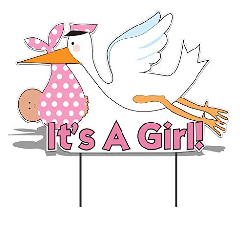 VictoryStore Yard Sign Outdoor Lawn Decorations - It's a Girl