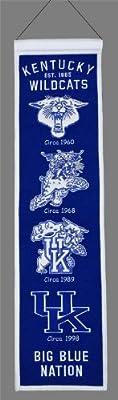 Kentucky Wildcats Heritage Banner 8'' x 32''
