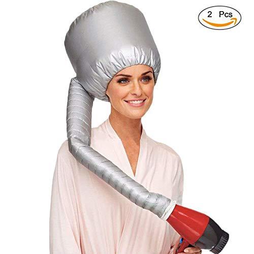 Wgwioo Accesorio del Secador De Pelo De Bonnet, Labrando El Casquillo Ajustable del Sombrero De La Capilla Ajustable