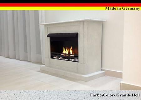 Schwarz W/ählen Sie aus 9 Farben Ethanol und Gelkamin Modell Emily Deluxe