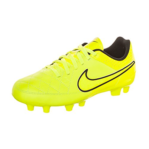 GLD CN PNCH Tiempo NIKE VLT FG Boot Genio HYPR Leather Junior BLCK Football MTLC SzqvR