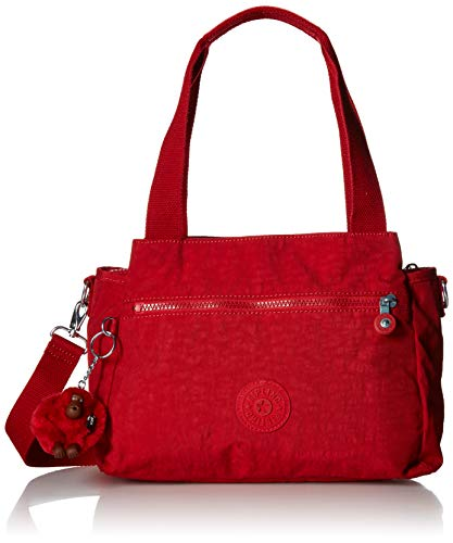 Kipling womens Elysia Solid Convertible Crossbody Bag,  Cherry, One Size (Bag Womens Handbag Art)