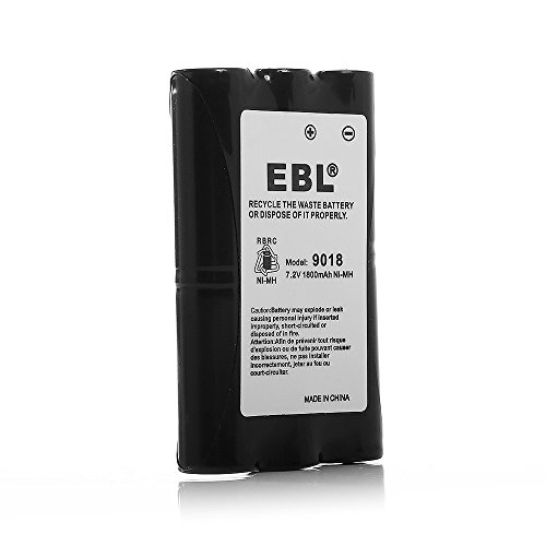 - EBL HNN9018 High Capacity 1800mAh Two-Way Radio Batteries Replacement Battery for Motorola Radius Radio CP50 HNN9018 HNN9018AR HNN9018A HNN9018B