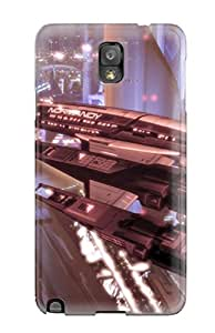 New Style 6292410K19733547 Galaxy Note 3 Case Slim [ultra Fit] Mass Effect 2 Protective Case Cover