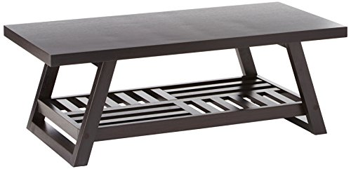 Coaster Home Furnishings 701868 Casual Coffee Table, Cappucc