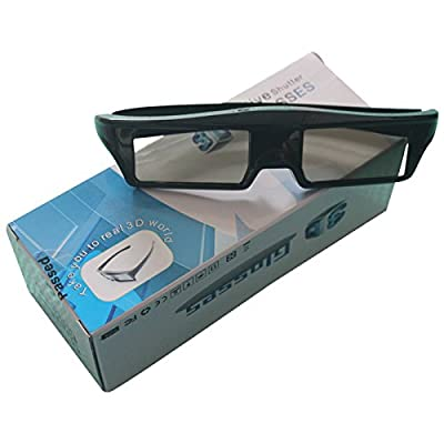 3D Active Glasses COOLUX@ FOR SONY TV Models Replace to X940C, X930C, X910C, W850C, W800C, TDG-BT500A, TDG-BT400A TVs USB Rechargeable Battery 70-80hrs working