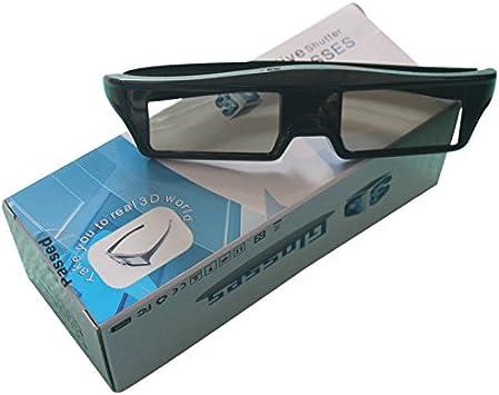 Gafas 3D Activas de Bluetooth para Nokia Samsung Sony Toshiba TV TCL Eemplazar Lentes Bateria de Litio Recargable: Amazon.es: Electrónica