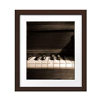 Amazon com: Photos by Getty Images Old Piano - Polaroid 4x5