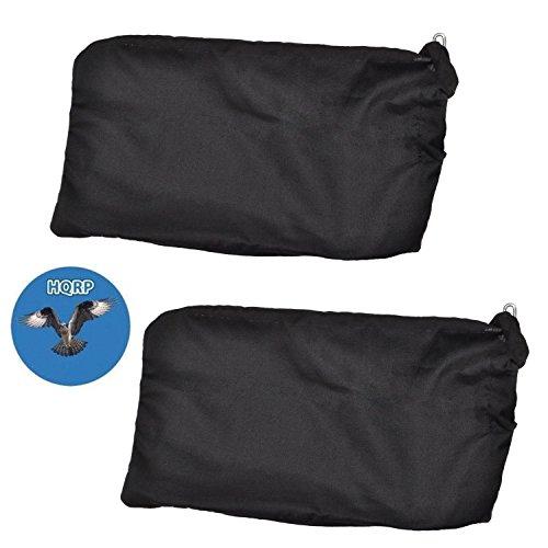 HQRP 2-pack Dust Bag for Hitachi C8FB C8FB2 C8FS C8FSC C8FSE C8FSHE C8FSHE...