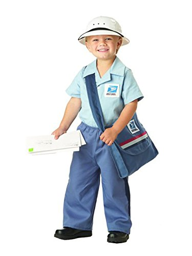 Mr. Postman Toddler Costume , Medium, One Color ()
