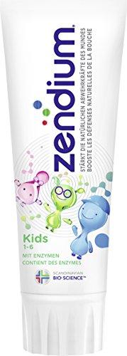 Zendium Zahnpasta (Kids 1-6 Jahre), 2er Pack (2 x 75 ml)