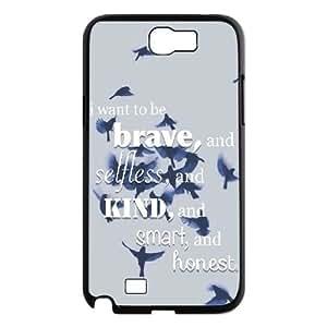 LSQDIY(R) divergent Samsung Galaxy Note 2 N7100 Case Cover, Customized Samsung Galaxy Note 2 N7100 Cover Case divergent