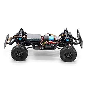 deguojilvxingshe RGT RC Climbing Car Off-road Vehicle, 1:16 Simulation All-Terrain Vehicle RC Off-road Car with LED…