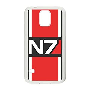 SamSung Galaxy S5 phone cases White Mass Effect fashion cell phone cases UYIT2281638