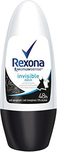 Rexona Crystal - Rexona Crystal Clear Aqua Deo Roll-On Women Pack of 6 x 50 ml