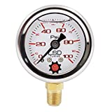 LSD TUNING USA Pressure Gauge for Fuel and Oil